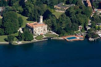 Villa Erba vista dall'alto