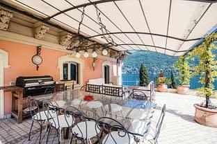 Il giardino pensile di Villa Le Rose