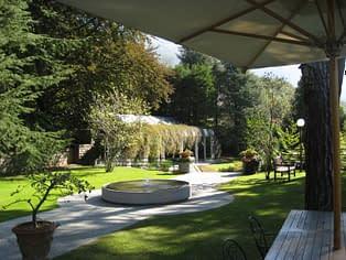 Il giardino di Villa Il Faggio