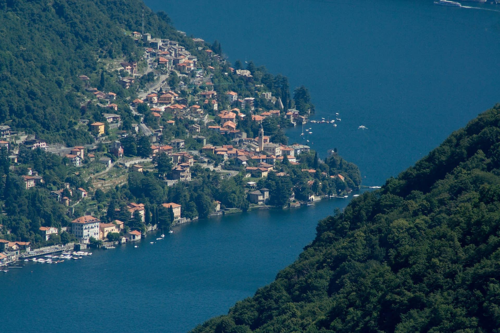 Panorama del Lago di Como