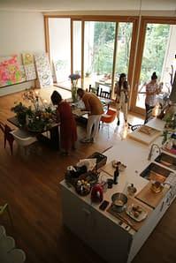 La cucina di Villa Benedetta