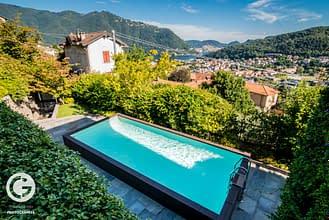 La piscina di Villa Benedetta