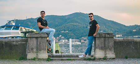 Mirko ed Emanuaele dei Larius Way
